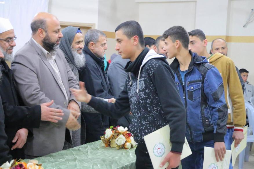 تخريج 70 حافظا للقرآن الكريم شمال قطاع غزة