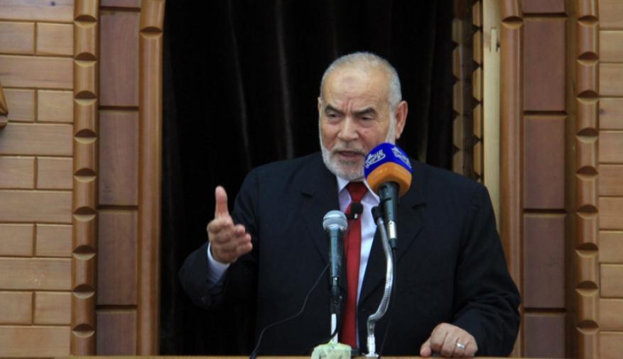 """بحر يدعو للتوحد أمام سياسة ترامب الداعمة """"لإسرائيل"""""""