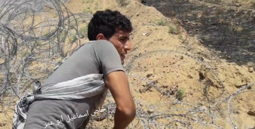 استشهاد شاب فلسطيني برصاص الاحتلال جنوب القطاع