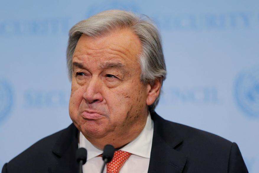 غوتيريش: حل قضية القدس يكون عبر مفاوضات على أساس القرارت الأممية