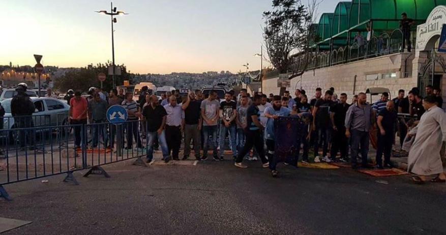 اندلاع مواجهات في عدة أحياء من القدس المحتلة