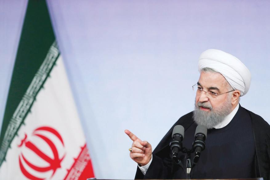 روحاني يتعهد بتقديم الدعم اللازم لمتضرري الزلزال