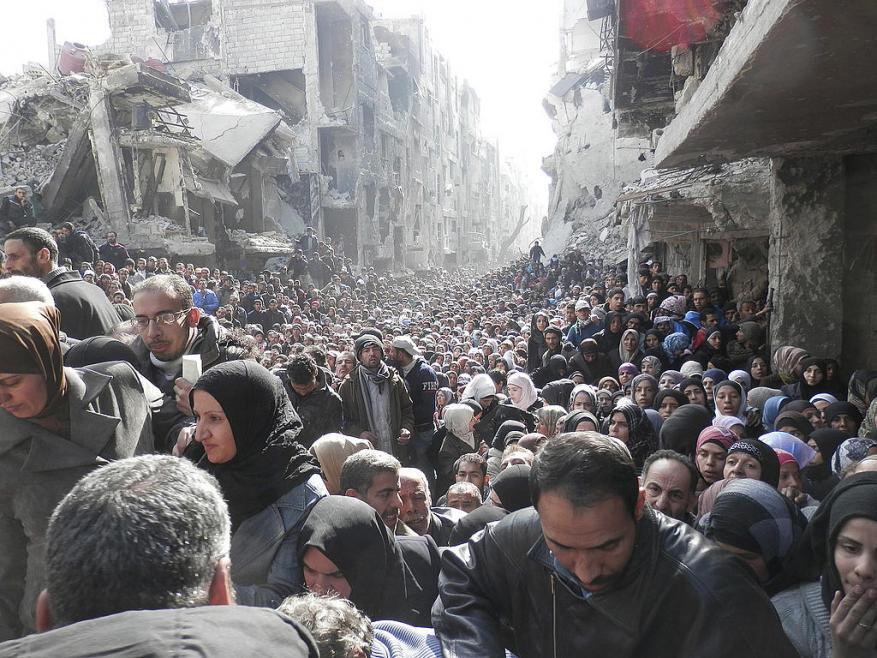 3500 لاجئاً فلسطينياً قضوا بسبب الحرب في سورية