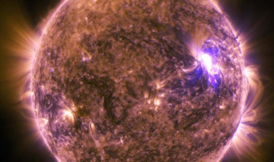 انفجار شمسي قوي أثّر على الاتصالات العالمية