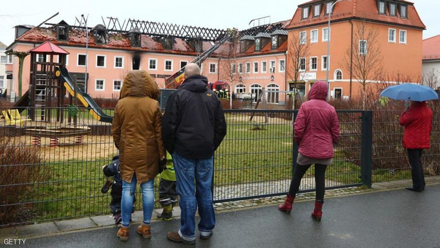 ارتفاع الاعتداءات على منازل اللاجئين في ألمانيا