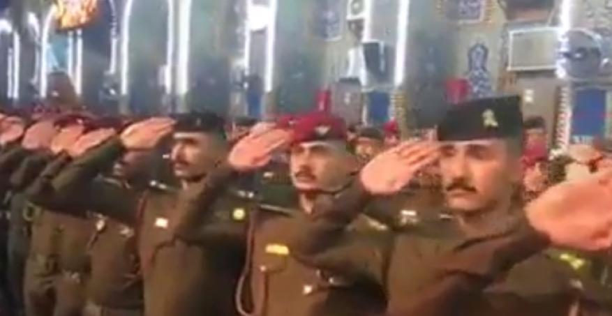 هتافات طائفية بحفل تخريج ضباط عراقيين مخالفة للأعراف العسكرية