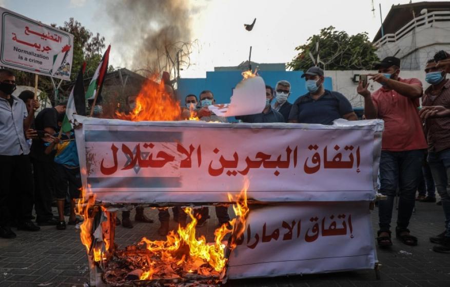 غزة الحق في حلوق المطبعين