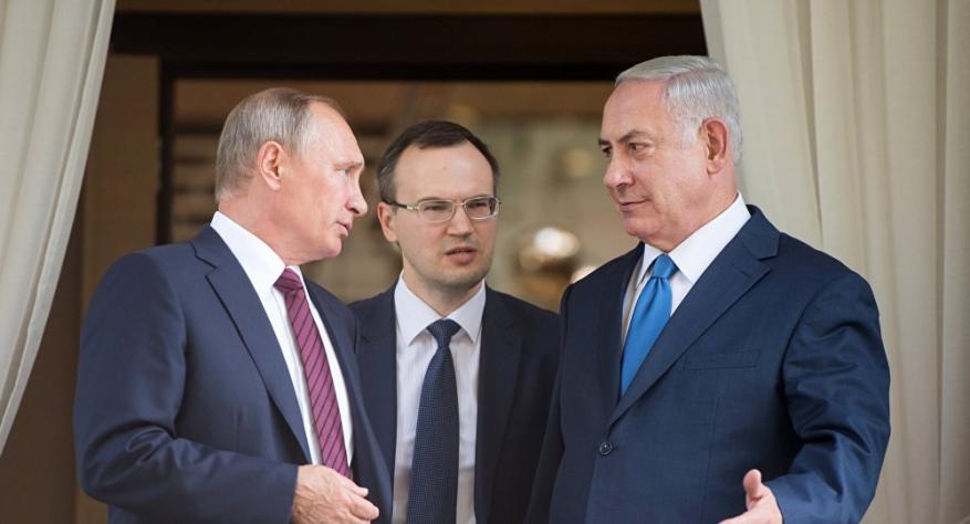 نتنياهو لبوتين: سنتصدى لأي محاولة لاختراق حدودنا على خلفية الأزمة السورية