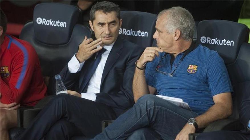 مساعد فالفيردي يكشف كواليس فشل برشلونة أمام ليفربول