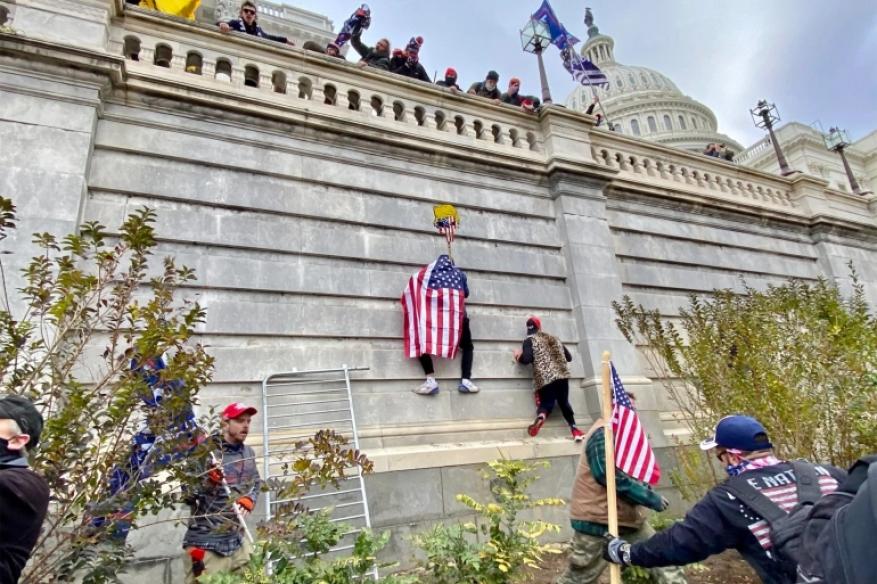 رياضيون أمريكيون ينددون باقتحام أنصار ترامب مبنى الكونغرس الأميركي