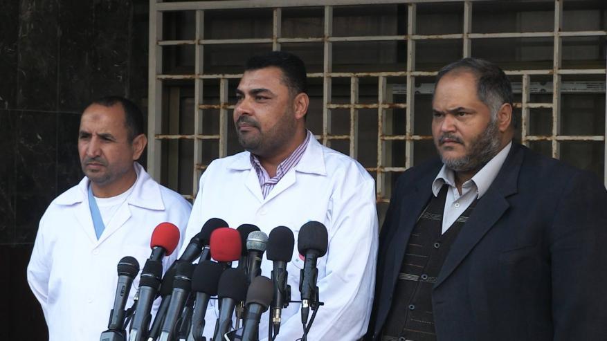 الصحة بغزة: تفادينا حالات البتر الناجمة عن سياسية القنص وندعو لدعم القطاع الصحي