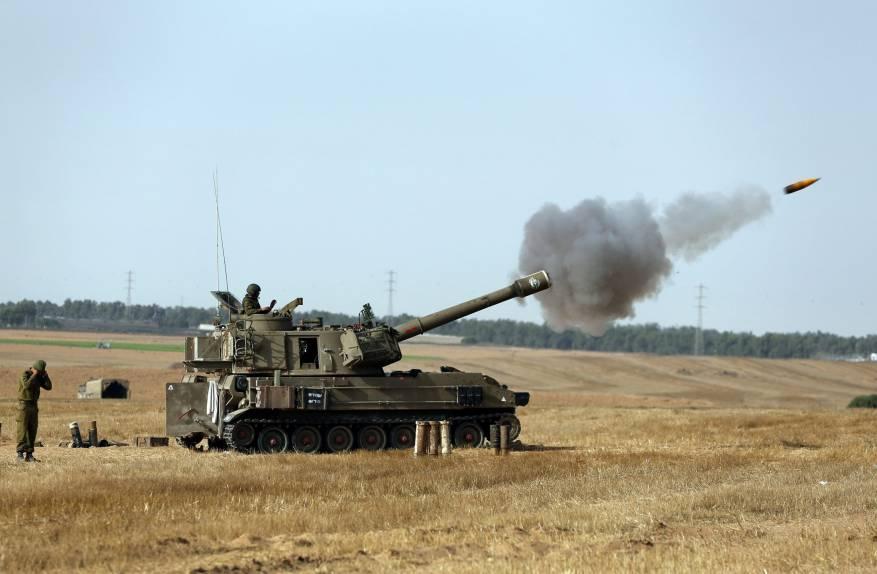مدفعية الاحتلال تستهدف نقطة رصد للمقاومة شرق البريج