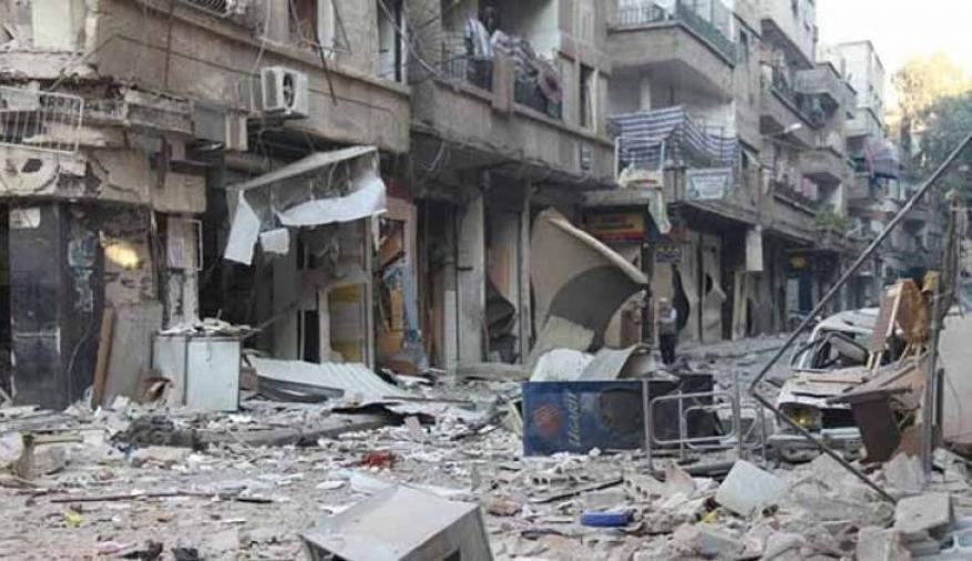 قصف واشتباكات في مخيم اليرموك بدمشق