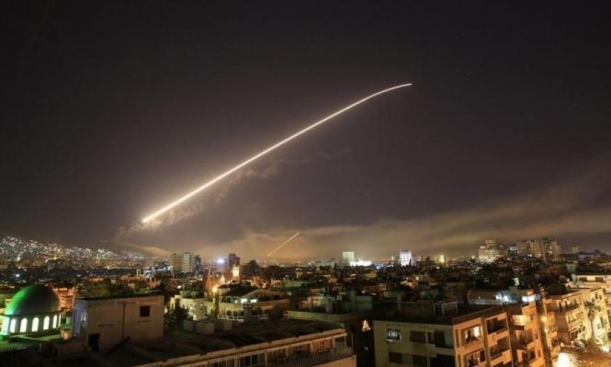 قصف إسرائيلي يستهدف مدينة دير الزور ومنطقة البوكمال