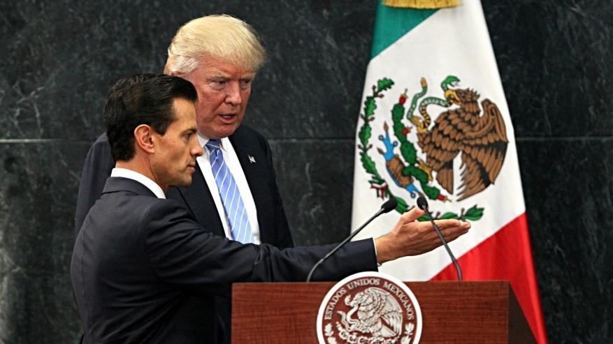ترامب لرئيس المكسيك: هل انت مجنون؟