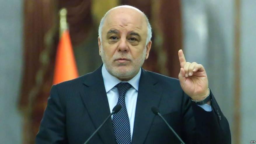 العبادي يعلن رفضه مبادرات الحوار مع كردستان