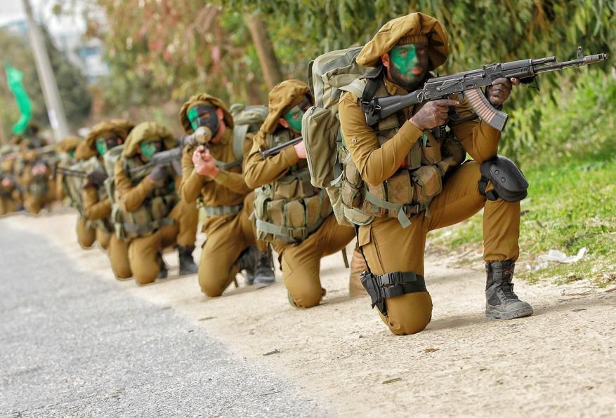 مسير عسكري للقسام شمال القطاع