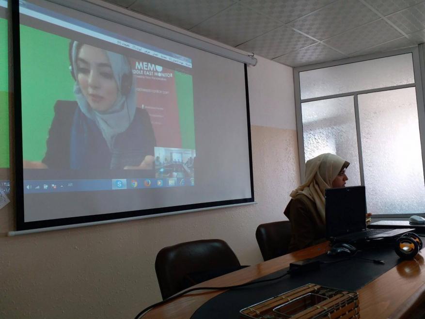 العلاقات الدولية يعقد لقاء حول جهود مناصرة القضية الفلسطينية في بريطانيا ومئوية بلفور