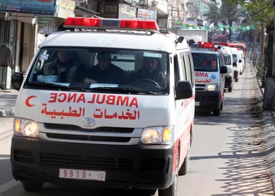 وفاة مواطن وإصابة خطرة بحادث دراجة نارية غرب غزة