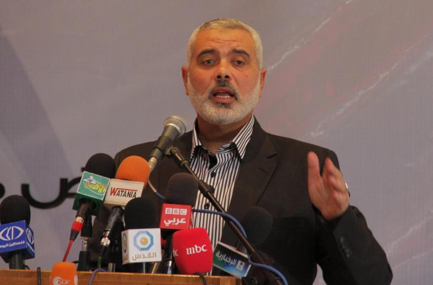 هنية يلتقي رئيس المخابرات المصرية ويؤكد استعداد حماس لعقد المصالحة فوراً