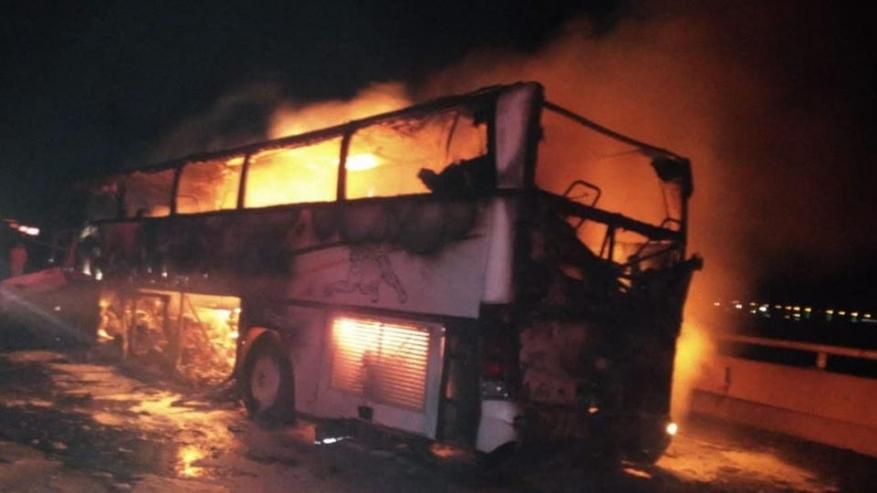 مصرع 35 معتمرًا بحادث سير في المدينة المنورة