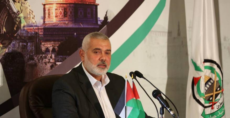 خطابه الأول منذ توليه رئاسة حماس: هنية يعلن أولويات حركته المقبلة ويطلق مبادرة سياسية
