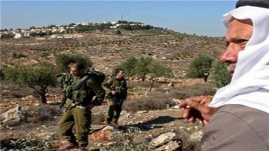 الاحتلال يجدد أمر الاستيلاء على أراضٍ في قلقيلية