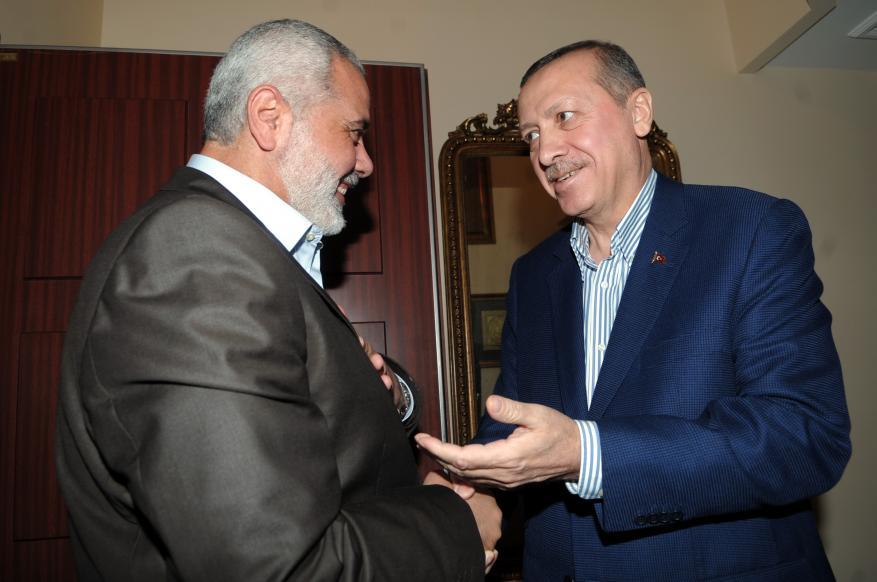 الاحتلال يتهم تركيا بدعم أنشطة حماس العسكرية والاقتصادية