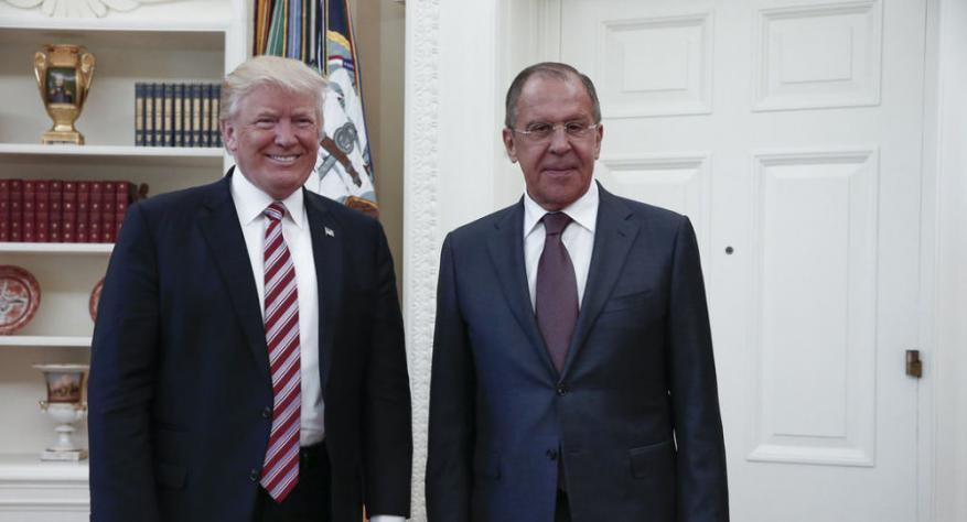 روسيا مستعدة لنشر تفاصيل لقاء ترامب ولافروف
