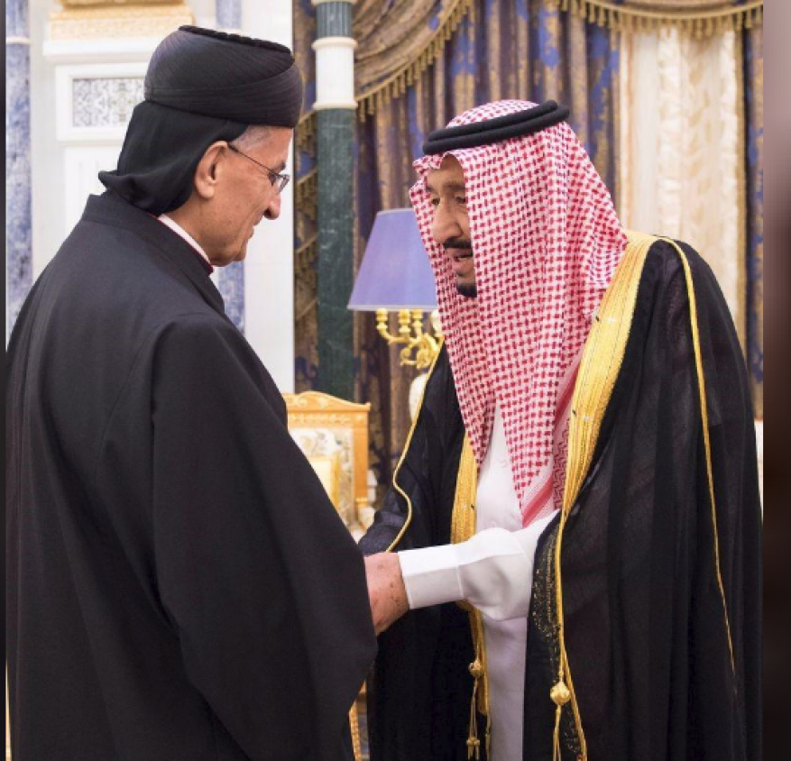 ثاني بطريرك مسيحي يزور السعودية.. بشارة الراعي يلتقي بالملك سلمان
