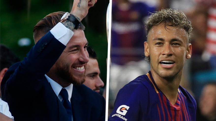 """راموس يرحب بالبرازيلي نيمار في ريال مدريد """"في أي وقت"""""""