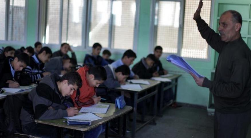 تشغيل مؤقت لـ 360 معلم ومعلمة بغزة