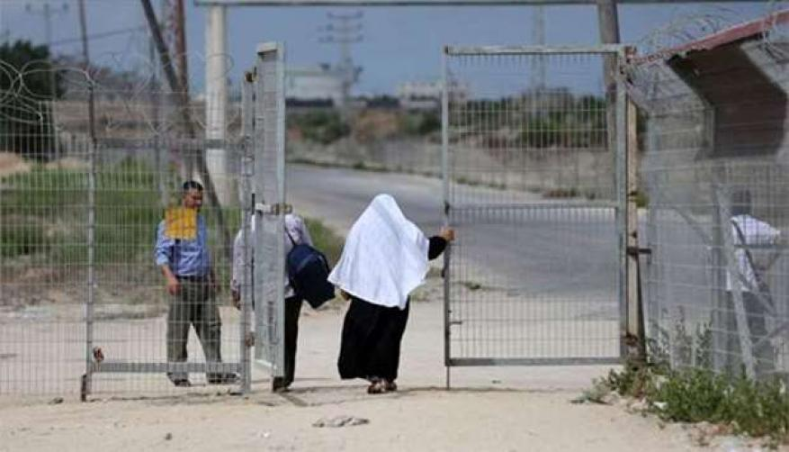 The Israeli occupation reopens pedestrian crossing to Gaza Strip