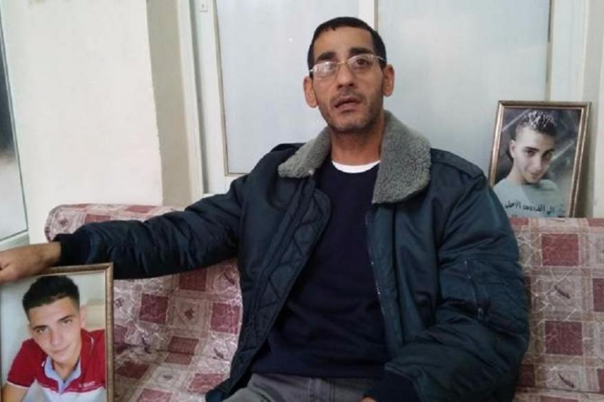 الاحتلال يعتقل والد الشهيد أبو غزالة بتهمة التحريض