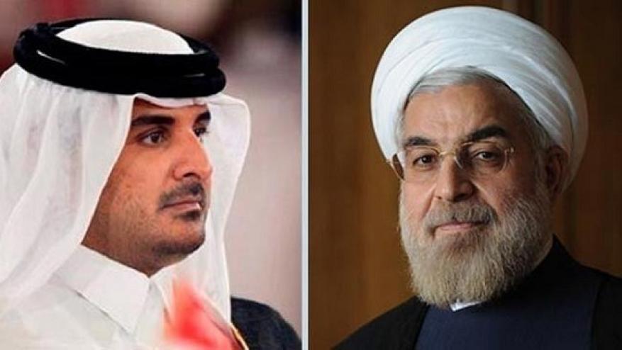 رسالة من روحاني إلى أمير قطر  .. ماذا قال فيها؟