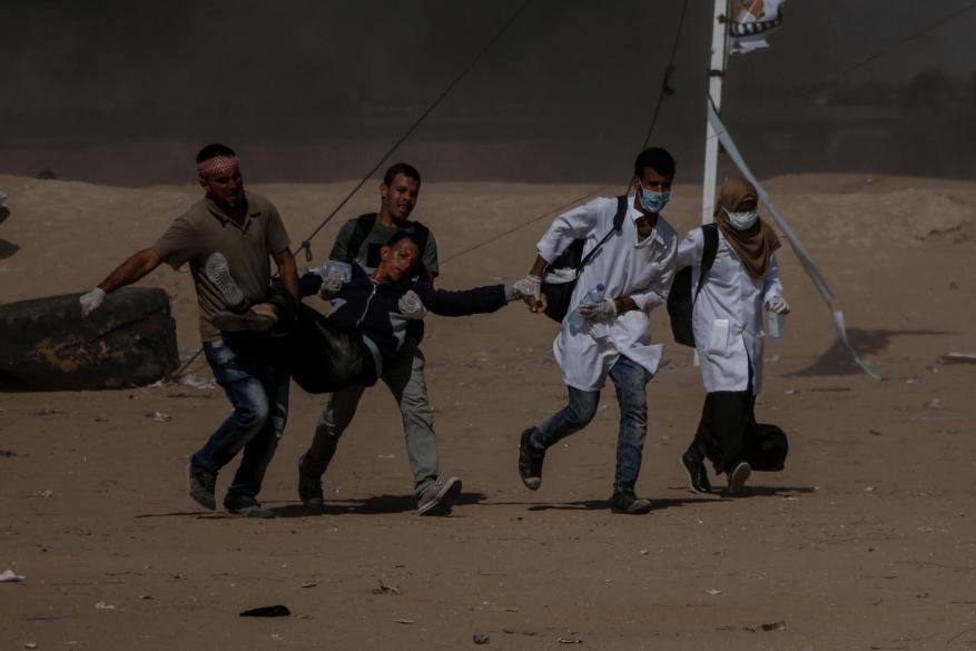 اليونيسيف: المؤسسات الصحية تواجه صعوبات في علاج جرحى مجزرة الاحتلال