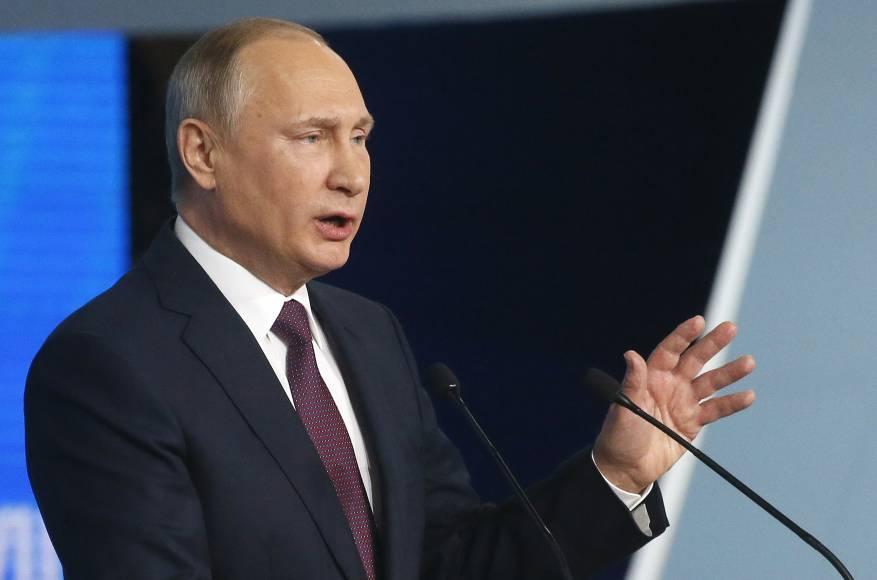 بوتين يوجه رسالة إلى القمة العربية