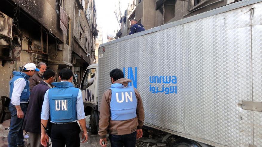 الأونروا: الوضع الإنساني داخل مخيم اليرموك صعب للغاية