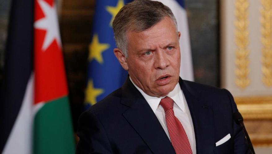ملك الأردن: لا حل للقضية الفلسطينية إلا من خلال حل الدولتين