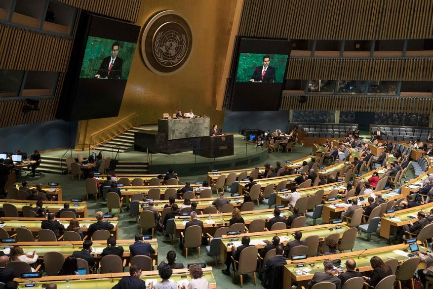 حماس ترحب بنتائج تصويت الجمعية العامة لصالح الشعب الفلسطيني