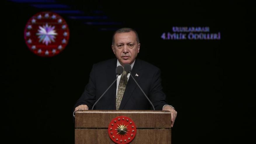 أردوغان: الجيش التركي يوشك على دخول مدينة عفرين
