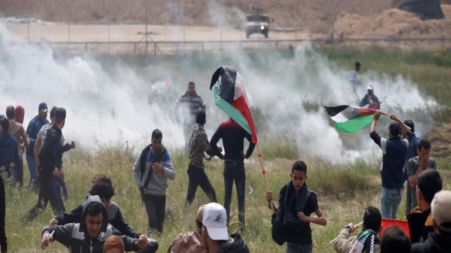 نُزهة بعلمٍ فلسطينيّ.. ورُصاصة من بندقيةِ المحُتل!