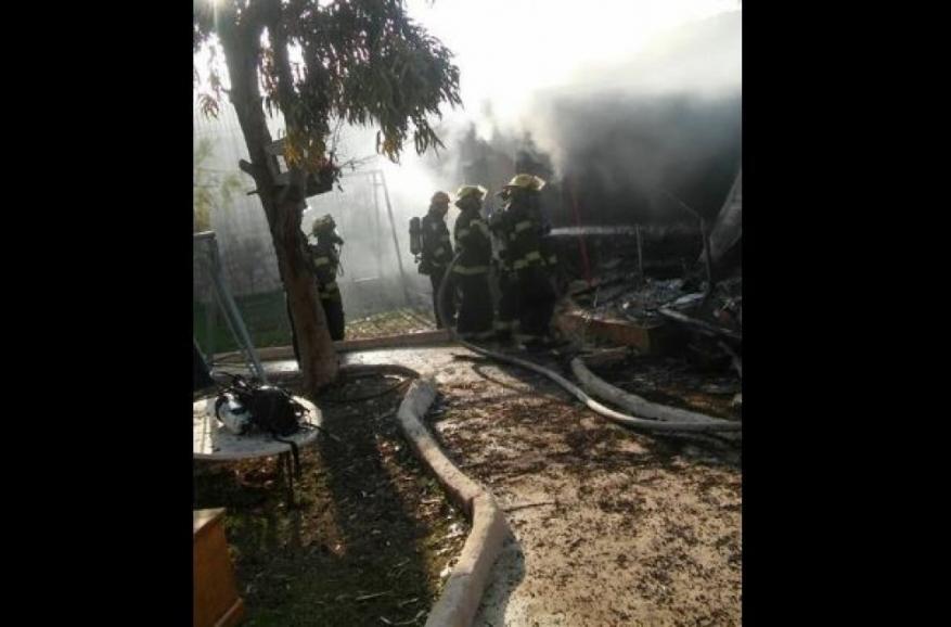 وفاة مواطنة وإصابة 3 آخرين في حريق شمال القدس