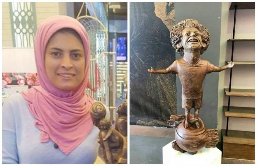 محمد صلاح يخرج عن صمته ويوجه رسالة لصاحبة تمثاله المثير للسخرية