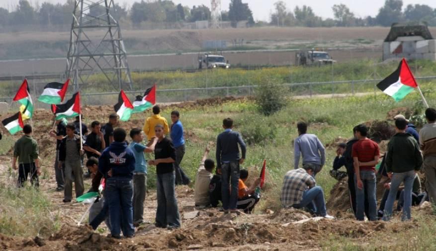 الاحتلال يطلق النار صوب طلبة مدارس وشبان على حدود القطاع