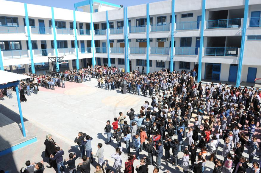 UNRWA Says Its Schools for Palestinian Refugees to Open on Time