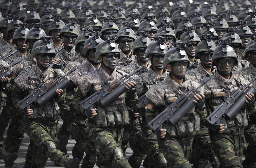 كوريا الشمالية تكشف عن قواتها الخاصة لأول مرة
