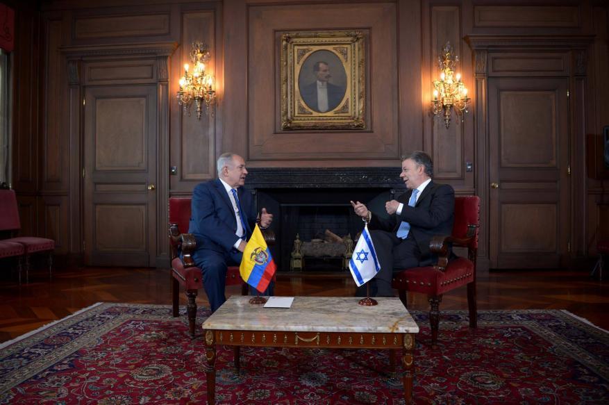 اتفاق بين الاحتلال وكولومبيا على تعزيز العلاقات