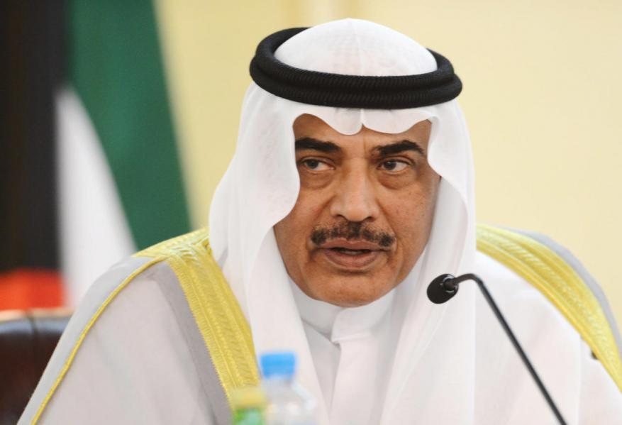 وزير الخارجية الكويتي يصل القاهرة لبحث الأزمة الخليجية