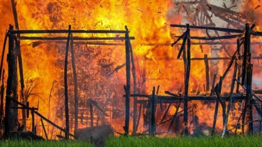 العفو الدولية: جيش ميانمار يهدم قرى أراكان ليحولها الى منشآت عسكرية